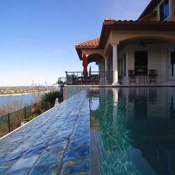 hill side pool